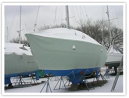 Fairclough winter sail boat cover