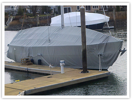 Fairclough winter sail boat cover