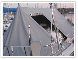 Fairclough Boomtent sail boat cover